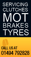 Services, Clutches, Tyres, Brakes and MOT
